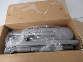 Used  Evenflo loft Portable Bassinet Grey