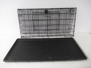 Used  MidWest Folding Metal Rabbit Cage