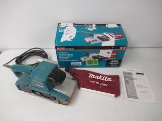 Used  Makita 9404 8 8A Variable Speed Belt Sander