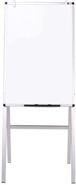 VIZ PRO Melamine H Stand Whiteboard Adjustable Dry