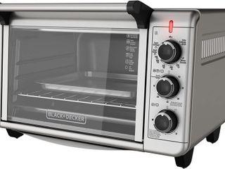 BlACK DECKER Convection Toaster Oven  6 Slice
