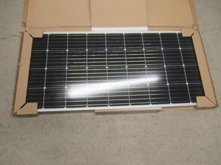 BougeRV 170 Watts Solar Panel  12 Volts