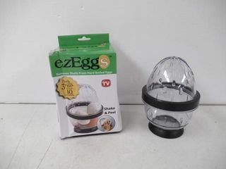lightly Used  EZ EGGS Hard Boiled Egg Peeler  3