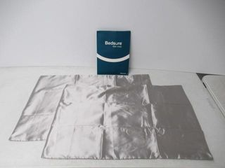 Bedsure Satin Pillowcase for Hair and Skin  2 Pack