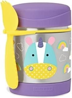 Skip Hop Insulated Food Jar  Stainless Steel Baby
