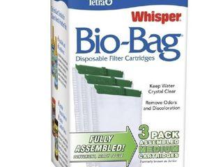 Tetra Aquarium Filter Cartridge  Bio Bag Medium  3