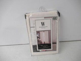 Used  Wamsuttar Sheer 84 Inch Window Curtain