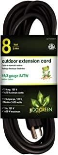 Go Green Power GG 13708BK Go Green Power 16 3 SJTW