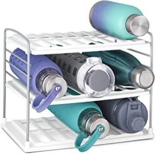 YouCopia UpSpace Water Bottle Organizer  3 Shelf