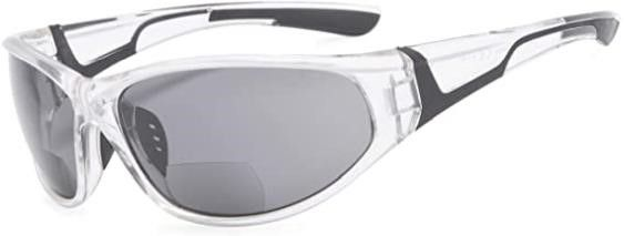 Eyekepper Bifocal Sunglasses with TR90 and Rubber