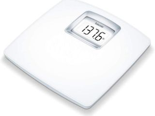 Beurer White Digital Bathroom Scale with Extra