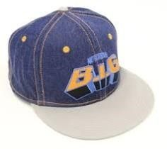 Notorious B I G  Denim Hat  Size Small