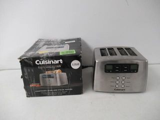Used  Cuisinart CPT 440C 4 Slice Touch To Toast
