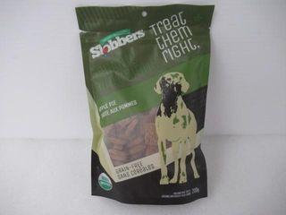 As Is  Slobbers Organic Dog Treats   Apple Pie