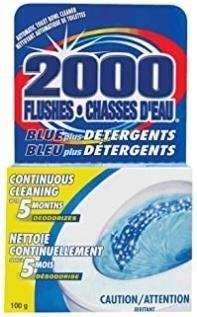2  WD 40 90102 2000 Flushes Blue Plus Detergents