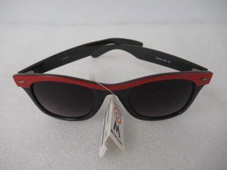 Mercury Sunglasses Unisex Black   Red 100  UV