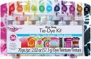 Tulip 31679 One Step 12 Color Tie Dye Kit Super
