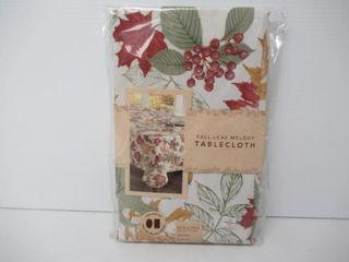 Fall leaf Melody Tablecloth 52  x 70  Oblong