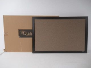 As Is  Quartet Espresso Wood Frame Home Decor