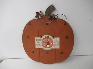 As Is  Photo Collage Pumpkin Frame