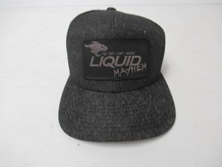 As Is  liquid Mayhem Snap Back  Mesh Back Hat  A