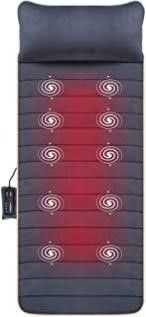 Massage Mat with 10 Vibrating Motors and 4 Therapy