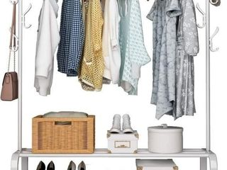 UDEAR Garment Rack Free Standing Clothes Rack with