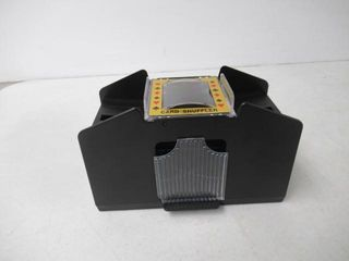 As Is  Brybelly Four Deck Automatic Card Shuffler
