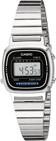 Casio Women s lA670WA 1 Daily Alarm Digital Watch