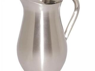 Service Ideas WPB2BS Brushed Pitcher with Ice