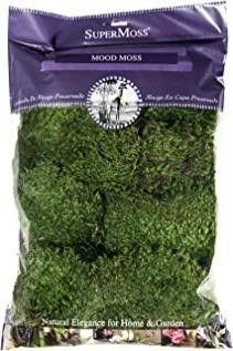 Super Moss 21539 Preserved Mood Moss  Natural