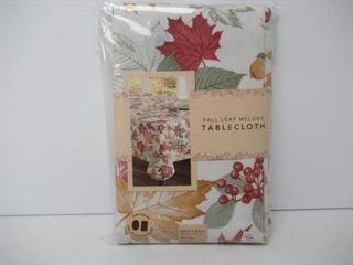Fall leaf Melody Tablecloth 60  x 84  Oblong