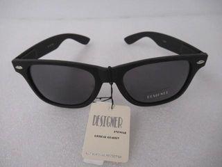 Designer Sunglasses Unisex Black 100  UV