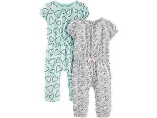 2 Pack Simple Joys by Carter s Girls  0 3 Months