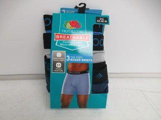 Fruit of the loom Men s 2Xl Breathable Underwear