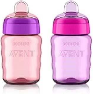 Philips Avent My Easy Sippy Cup 9oz  Pink Purple 2