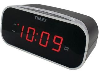 Timex Audio T121B Alarm Clock with  7  Red Display