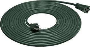 16 3 Vinyl Outdoor Extension Cord  Green  25 Foot