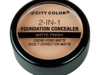 2  Cit Colour 2 in 1 Foundation Concealer light