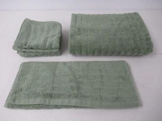 Used  Premium 8 Piece Cotton Bath Towel Set  2