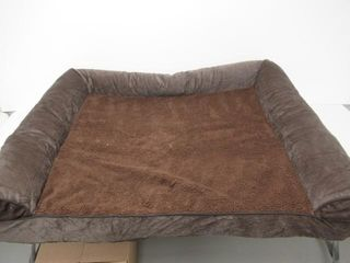 Used  Furhaven Pet Dog Bed   Orthopedic Faux