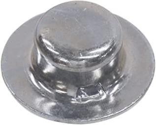 Hillman 8989 Zinc Axle Cap Nuts  1 2    2 Pieces