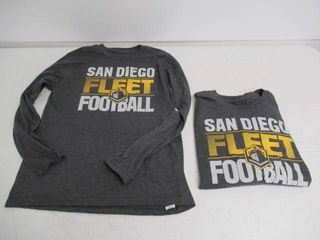 lot Of  2  GII Apparel Youth large  14 16  San
