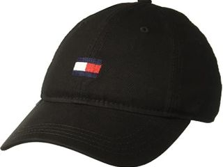 Tommy Hilfiger Men s Ardin Dad Hat  Black  One