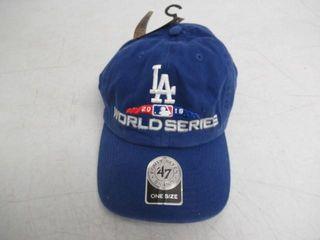 World Series lA Dodgers O S 2018 Baseball Hat