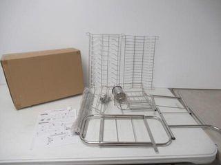 Used  Over The Sink Dish Drying Rack  BuyAgain