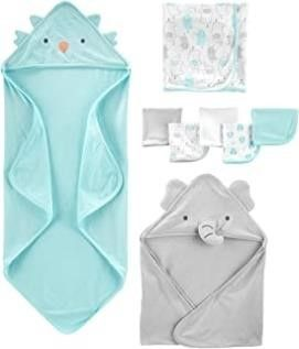 Simple Joys by Carter s Baby 8 Piece Towel and