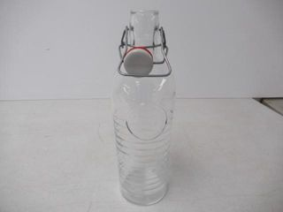 As Is  Bormioli Rocco Officina Water Bottle 37 25