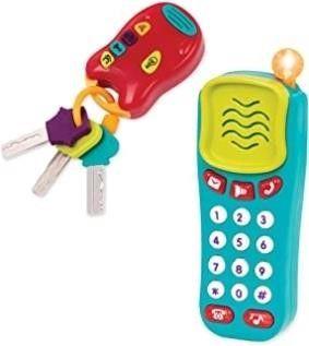 Battat Combo Set   light   Sound Phone   Keys