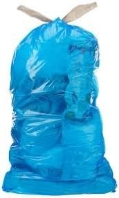 Commercial 13 Gallon Blue Recycling Bags  w